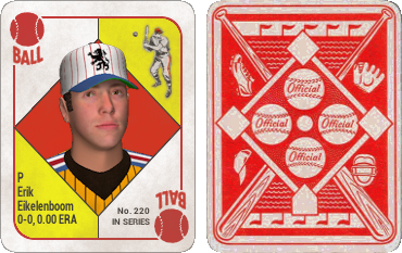There Are Two Versions Of The Card One With A Red Interior And Yellow Corners