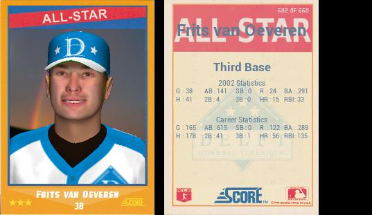 Frits Vanoeveren 1988 Score All Star Png