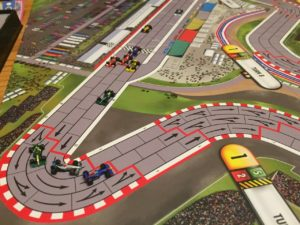 Congestion before turn 1